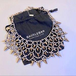 BAUBLEBAR 'Gothic Fang' Bib Necklace
